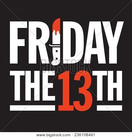 Friday The 13th Vector Design Great