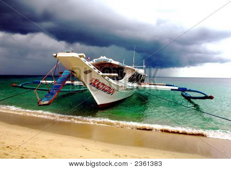 Beautiful Scene At Puerto Galera Philippines