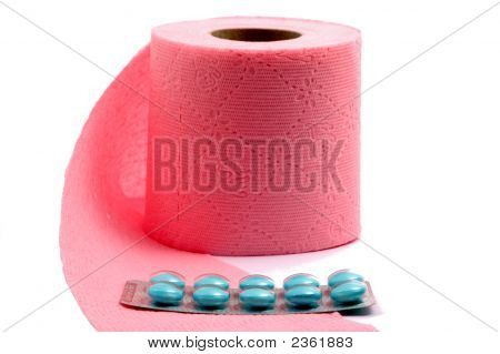 Toilet Paper With Tablets