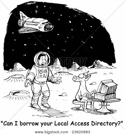 """Can I borrow your Local Access Directory?"""