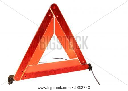 Road Hazard Warning Triangle
