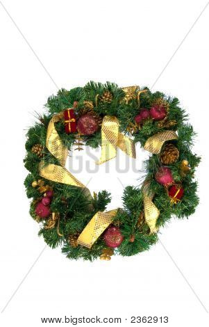 Christmas Door Garland
