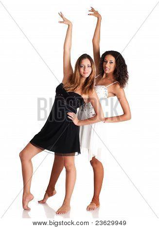 Two Dancer Girls