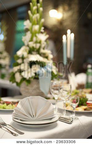 Restaurant-Tabelle