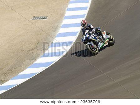 Marco Melandri Moto Grand Prix in Laguna Seca, California 2007