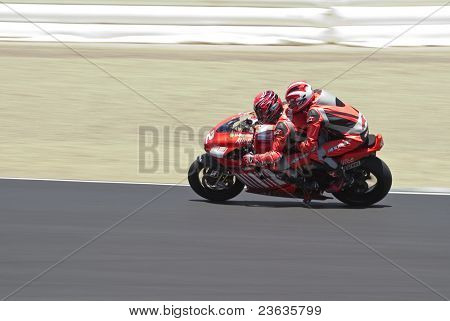 Casey Stoner Moto Grand Prix in Laguna Seca, California 2007