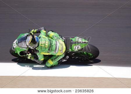 Roger Lee Hayden Motorcycle Grand Prix in Laguna Seca, California 2007