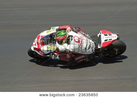 Alex Barros Motorcycle Grand Prix in Laguna Seca, California