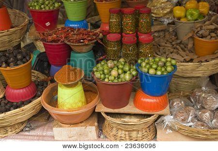 in a Market in Chiapas Mexico