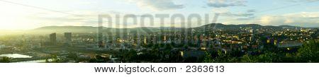 Evening Panorama Of Oslo