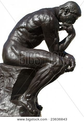 Thinker Isolated