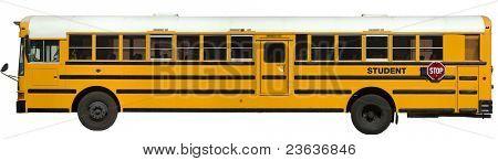 school Bus Isolated