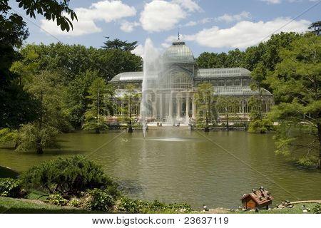 Cristal Palace Retiro Park Madrid