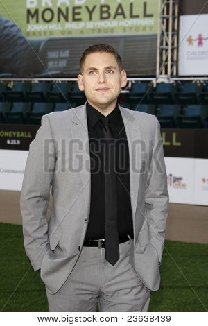 LOS ANGELES - SEP 19:  Jonah Hill arrives at the