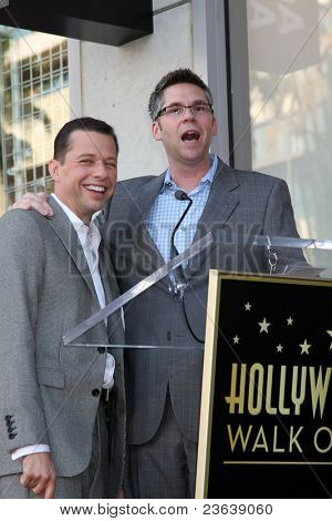 LOS ANGELES - SEP 19:  Jon Cryer, John Henson at the Jon Cryer Hollywood Walk of Fame Star Ceremony at Hollywood Walk of Fame on September 19, 2011 in Los Angeles, CA