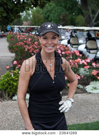 TARZANA, CA - APRIL 18: Paula Trickey arrives at the 8th annual