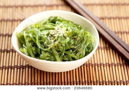 Japanese seaweed  [ Wagame ]