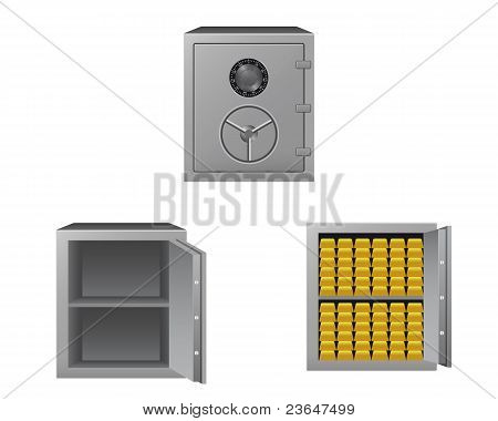 Collection of safes