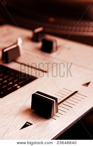 Crossfader Of Mixing Controller