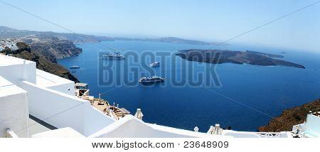 Imerovigli Santorini Panorama