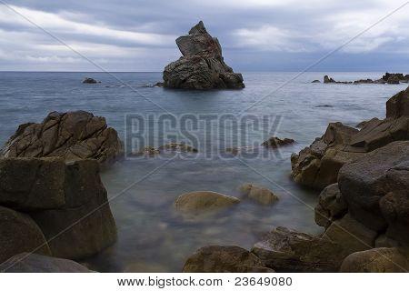 Lloret De Mar Beach Panoramic