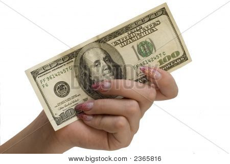 Hand And Money