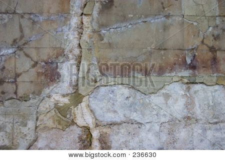 Dilapidated Old Wall
