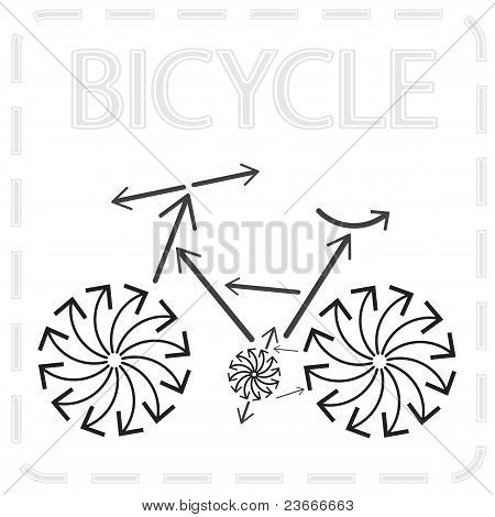 Arrowed Bike