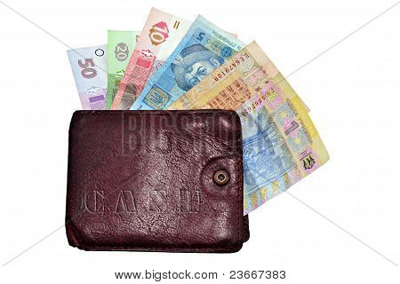 Hrivna Cash And Wallet