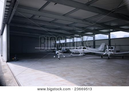 Small airplanes