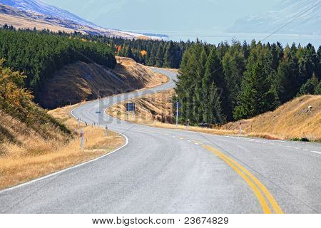 Road Stretching Out