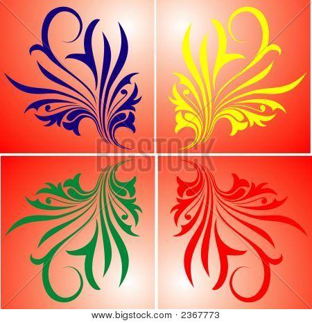 Vector Flower Illustration  Elegance Graphic Backgrounds