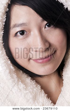 Lady With Fur Cap