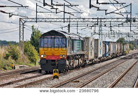 Sugar freight train