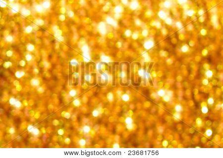 Golden Blurring Background