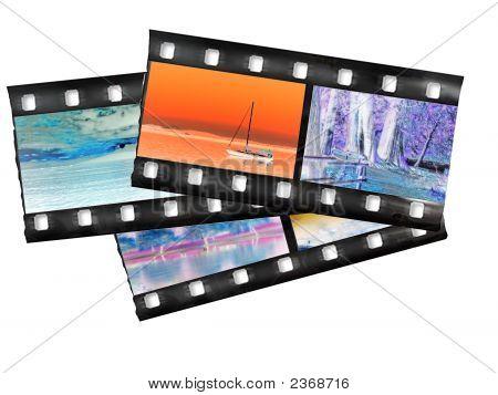 Color Negative Filmstrip