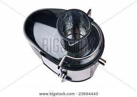 Juice Extractor On White