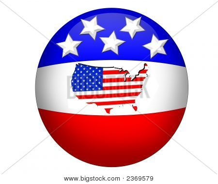 3D Illustration For America