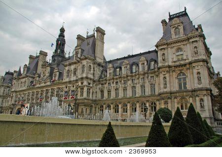 Important Monument In Paris, France