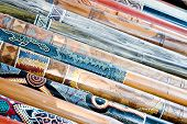image of didgeridoo  - Several long didgeridoos from Australia for sale - JPG