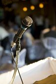 pic of emcee  - microphone - JPG