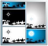 Nativity Banners And Letter