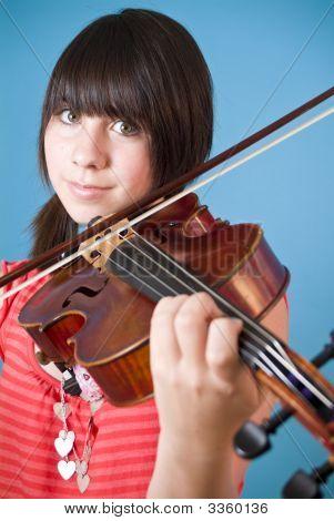 Lovely Violinist