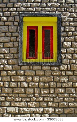 Yellow Window Nepali Style