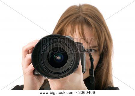 Photographer Taking A Shot