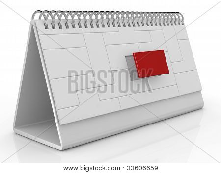 Desk Calendar And Deadline