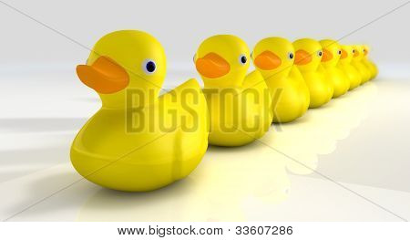 Get All Your Rubber Ducks In A Row