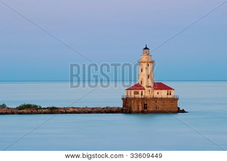 Chicago Harbor Light.