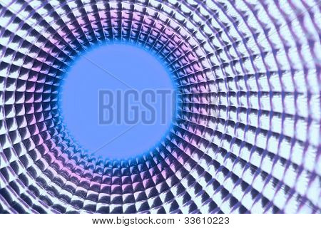 Round Violet Point Background