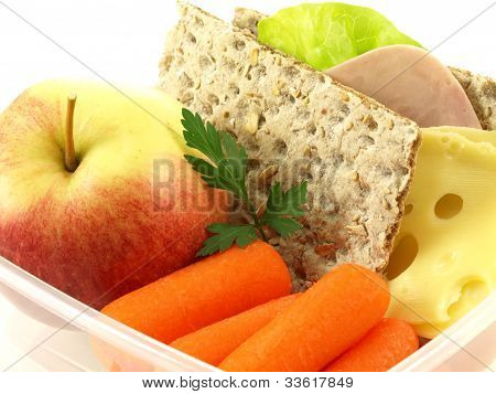 Breakfast, Closeup, Isolated